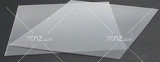 K&S - Clear Plastic Sheet 300x225x0.8mm image