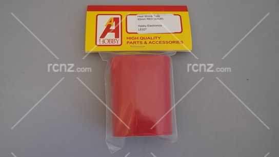 A Hobby - Heat Shinking Tube 65mm Red 30cm image