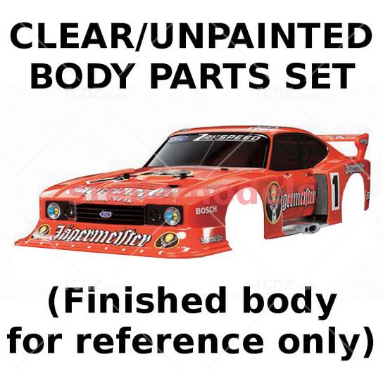 Tamiya - 1/10 Zakspeed Ford Capri Gr 5 Jagermeister Body Kit