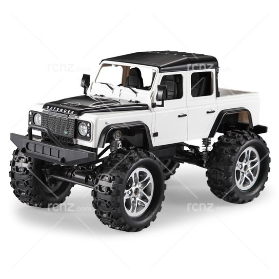 Double Eagle - 1/14 Land Rover Defender Rock Crawler Ute RTR - White image
