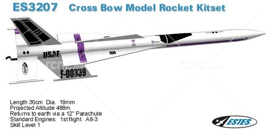 Estes - Cross Bow SST Rocket Kit image
