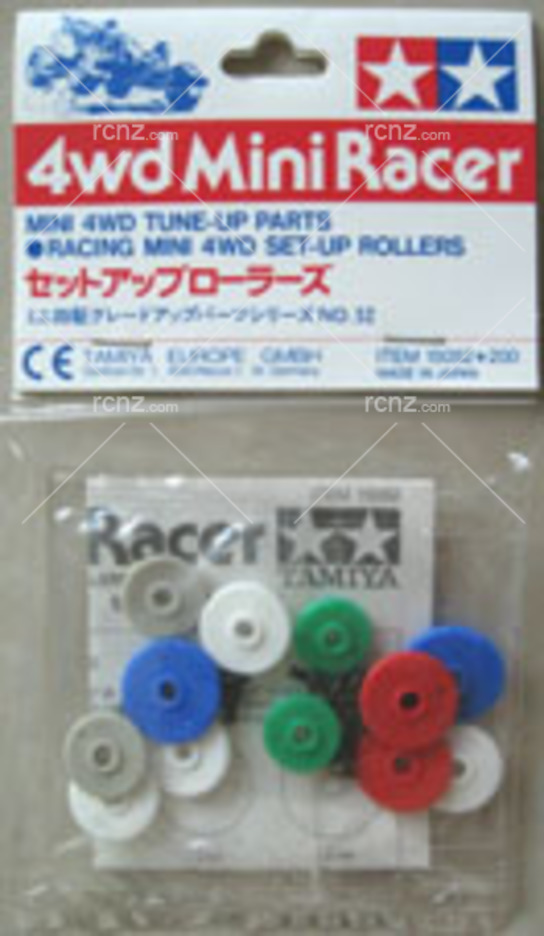 Tamiya - 4WD Mini Racer Set-up Rollers image