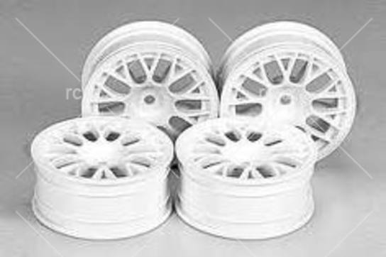 Tamiya - Medium Narrow White Mesh Wheels image