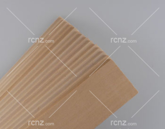 "Midwest - Basswood Sheet 24"" 1""x1/16"" (15 pcs) image"