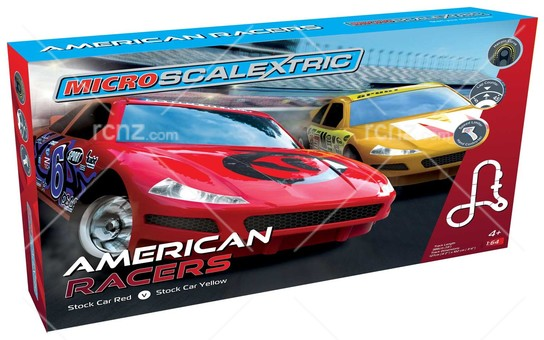 Scalextric - 1/64 Micro American Racers Set  image