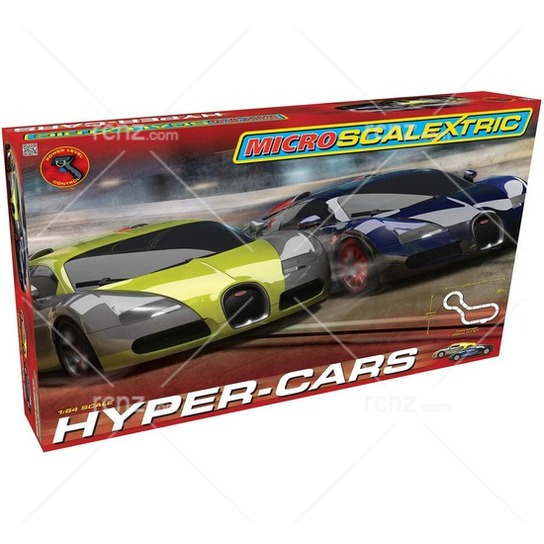 Scalextric - 1/64 Micro Hyper-Cars Starter Set image