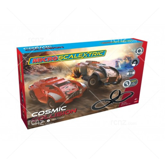 Scalextric - 1/64 Micro Cosmic Collison Car Set image