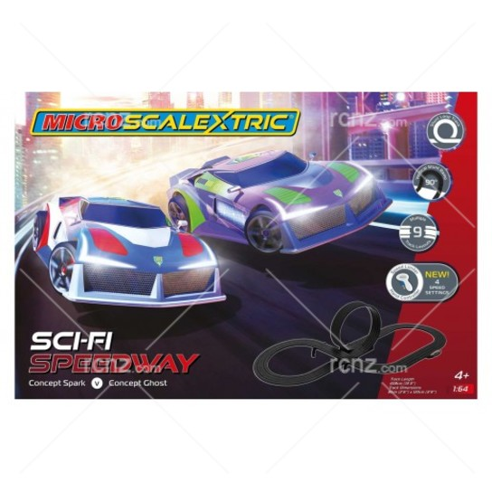 Scalextric - 1/64 Micro Sci-Fi Speedway Set image