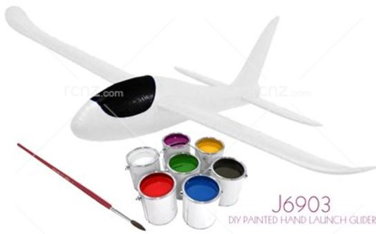 Joysway - Catch-Me Free Flight Glider with Paint image